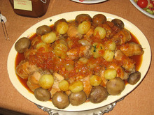 Dzur Dinner - Κοτόπουλο με τα Κοκκάρια
