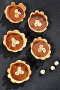 Ταρτάκια με πραλίνα φουντουκιού / Tartelettes with hazelnut praline