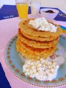 Τηγανίτες με τυρί cottage... απόλαυση σε κάθε μπουκιά