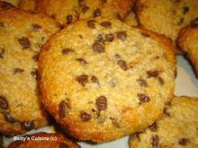 Μπισκότα με ταχίνι, βρώμη και μέλι
