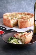 Τάρτα πατάτας με γιαούρτι και τυριά - The one with all the tastes