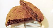 Ψωμί ολικής με σταφίδες και μέλι