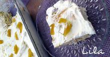 Γλυκό ψυγείου με μπισκότα και άρωμα λεμόνι