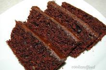σοκολατένιο κέικ με νιφάδες βρώμης/Oatmeal chocolate cake