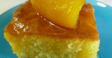 Κέικ με πορτοκάλι χωρίς βούτυρο