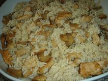 Σαλάτα με κοτόπουλο και ρύζι
