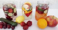 Νερό με φρούτα