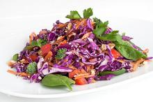 Σαλάτα με κόκκινο λάχανο (αντιοξειδωτική)