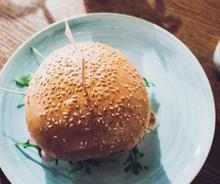 Αφράτα ψωμάκια για burger
