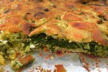 Μπατζίνα (εύκολη πίτα χωρίς φύλλο)