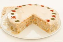 Λαχανοντολμάδες πίτα με σάλτσα αυγολέμονο