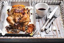 Ψητό κοτόπουλο & τέλεια μαρινάδα με μουστάρδα