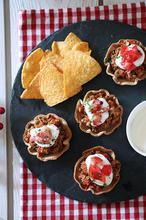 Xmas tastes 2017: Taco cups με κιμά και WineKingdom giveaway - The one with all the tastes