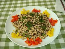 Φασόλια μαυρομάτικα σαλάτα