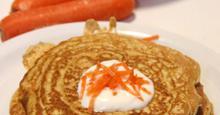 Αλμυρές τηγανίτες καρότου