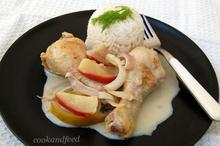 Κοτόπουλο με μήλα/Apple Chicken