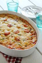 Πίτσα με κιμά στο πυρέξ - The one with all the tastes