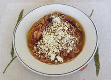 Χταπόδι με κριθαράκι - Οι συνταγές της Άννας