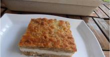 Σουφλέ ψωμιού με ρικότα και ξινομυζήθρα