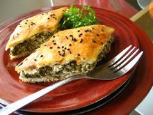 Aromatic greens pie/ Αρωματική Χορτόπιττα