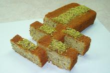 Κέικ με φυστίκια Αιγίνης