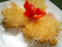 Πιτάκια 3 τυριά σε φωλιές απο καταΐφι!