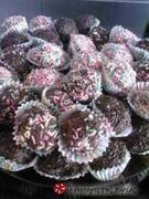 Τρουφάκια σοκολατένια