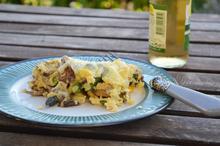 Ομελέτα Φούρνου με λαχανικά εποχής
