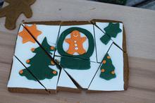 Μπισκότα Gingerbread & ένα πρωτότυπο παζλ
