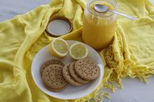 Κρέμα Λεμονιού (Lemon Curd) με Βίντεο και Ζαχαρωμένες Φλούδες Λεμονιού