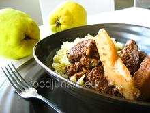 A Sunday special: beef stew with quince/ Μια Κυριακάτικη σπεσιαλιτέ: μοσχάρι κυδωνάτο