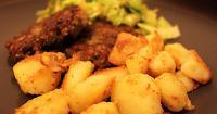Μελιτζανομπιφτέκια και πατάτες βραστοτηγανητές! - Lovecooking.gr