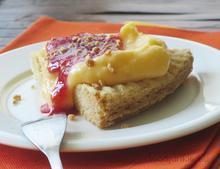Shortbread: το πιο βουτυράτο μπισκότο (χωρίς μίξερ) και μια διαφορετική τάρτα λεμόνι