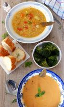Σούπα με κόκκινη, σμυρνέικη φακή