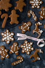 Vegan Χριστουγεννιάτικα Μπισκότα – Vegan Gingerbread Cookies - The Healthy Cook