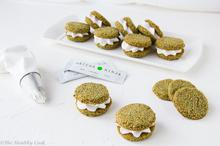 Μπισκότα Καρύδας με Matcha – Matcha Coconut Cookies - The Healthy Cook