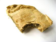 Courgette and aubergine pie/ Πίτα με κολοκύθι και μελιτζάνα