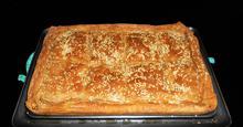 Πανεύκολη Ζαμπονοτυρόπιτα με Γιαούρτι,Ολικής Αλέσεως Easy Ham and Cheese Pie with Yogurt