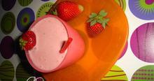 Ελαφρύ δροσερό εύκολο μούς φράουλας!