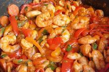 Γαρίδες πικάντικες - Συνταγές Μαγειρικής - Chefoulis