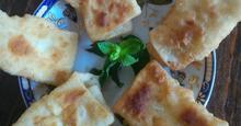 Πιταράκια τηγανητά με τυροζούλι
