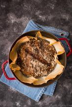 Ψωμί με Καρύδια και Σταφίδες, χωρίς ζύμωμα – No-knead Walnut & Raisin Bread - The Healthy Cook