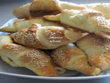 Τυροπιτάκια σε σχήμα κρουασάν