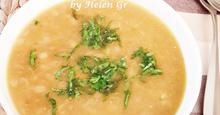 Σούπα με Ξυνό Τραχανά και Χορταρικά – Vegetable Winter Soup