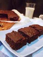 Brownies με μέλι & καρύδια