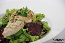 Super Salata με ψητή γαλοπούλα