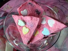Valentine's Cherry-Almond Candy Melt Bark/Κομμάτια Καραμέλας Με Αποξηραμένα Κεράσια Και Αμύγδαλα