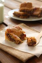 Μπάρες μπισκότου με nutella και ζαχαρούχο - The one with all the tastes