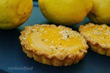τάρτα με κρέμα λεμονιού/Lemon tart