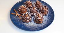 Κουκουνάρια από Σοκολάτα,με Μερέντα Chocolate Pinecones with Nutella